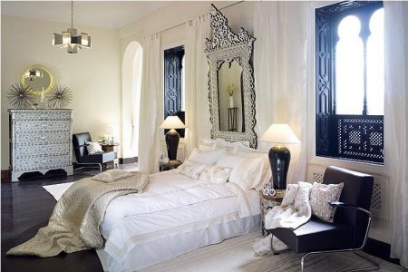اشكال وتصاميم غرف نوم مغربية (1)