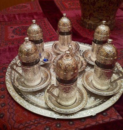 اطقم شاي وقهوة مودرن تركي وايطالي (1)