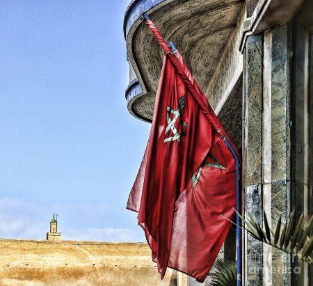 الوان وتصميمات علم المغرب (1)
