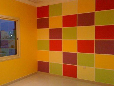 جدران شيك 2017 بالوان فخمة (1)