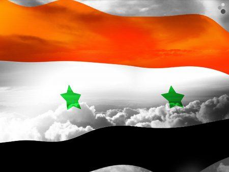 سوريا Flag (1)