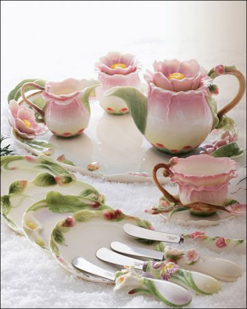 صور اطقم شاي وقهوة مودرن تركي وايطالي للنيش (1)