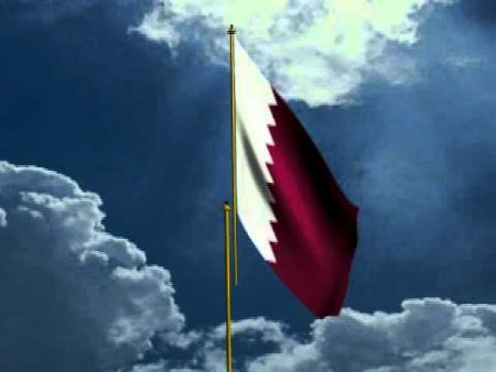 صور العلم القطري (3)