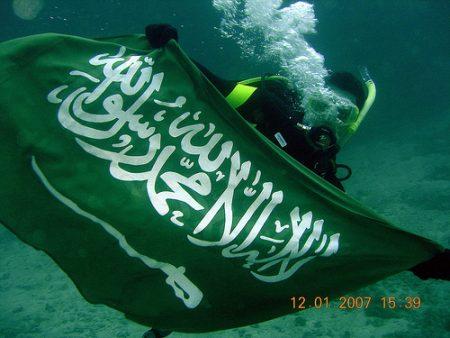 علم دولة السعودية (4)