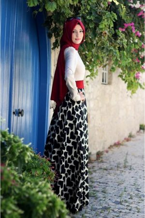 فستان محجبات جديد 2017 (2)