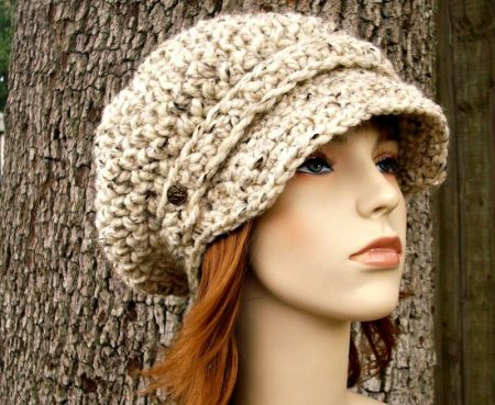 قبعات كروشيه (1)
