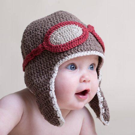 قبعات كروشيه (3)
