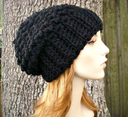 قبعة كروشية جميلة (1)