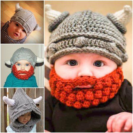 قبعة كروشية جميلة (2)