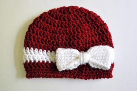 قبعة كروشية جميلة (3)