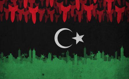 العلم الليبي بالصور (1)