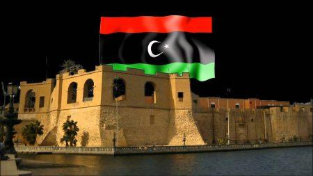 العلم الليبي بالصور (2)