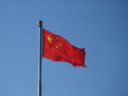 صور علم الصين الاحمر 5 نجوم صفراء (1)