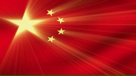 صور علم الصين الاحمر 5 نجوم صفراء (3)