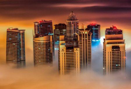 ضباب دبي (1)