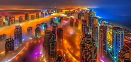 ضباب دبي (2)