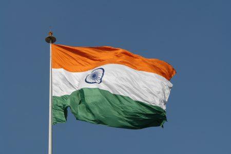 علم دولة الهند (2)