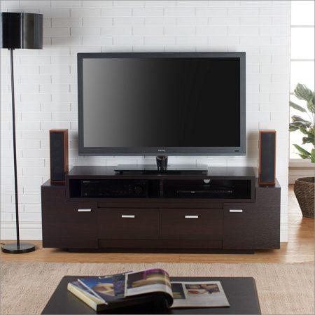 ترابيزة تليفزيون LCD مودرن وكلاسيك بديكورات تلفاز فخمة (1)