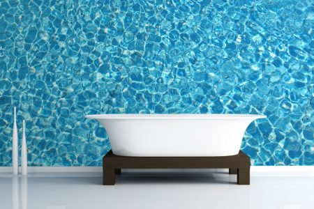 ديكورات حمامات حديثة مودرن 2017 (1)