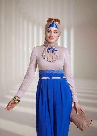 صور لبس بنات محجبات شيك مودرن 2017 (2)