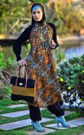 لبس فاشون المحجبات العصري 2017 (2)