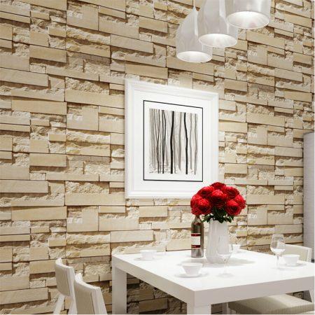 ورق جدران ثلاثي الابعاد مودرن للشقق والفلل (1)