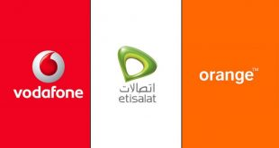 شبكات المحمول في مصر