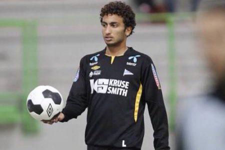اللاعب المصري عمرو وردة (3)