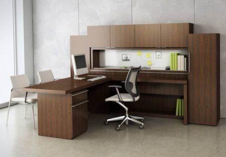 الوان واشكال وتصميمات مكاتب جديدة (2)