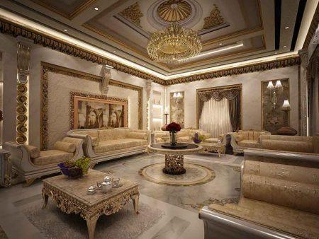 جبس اسقف غرف صالونات و انتريهات واستقبال 2017 (2)
