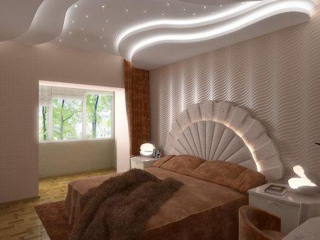 ديكورات جبس غرف نوم (1)
