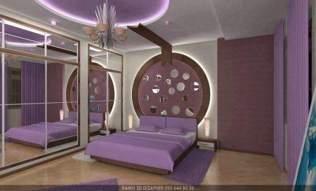 ديكورات جبس غرف نوم (2)