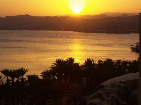 مناظر غروب الشمس علي البحار (2)