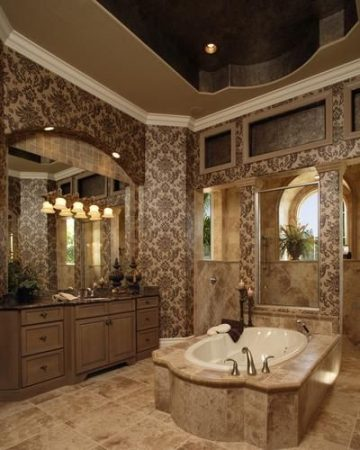 احدث صور تصميمات حمامات موزاييك (3)