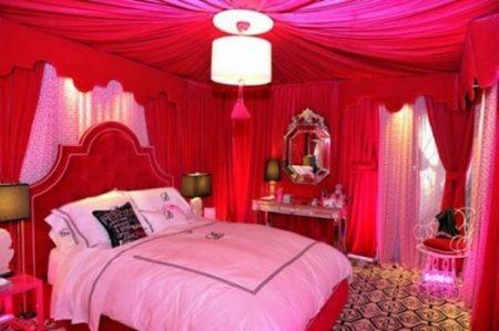 افكار غرف نوم رومانسية (2)