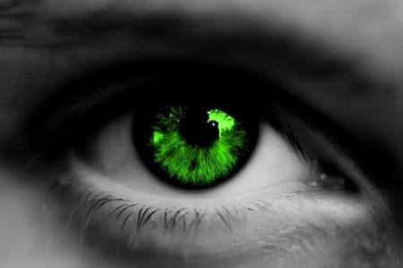 الوان عيون خضراء (3)