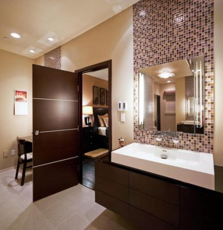حمامات موزاييك جديدة شيك مودرن فخمة (2)