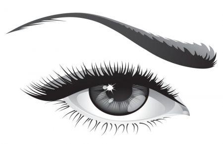 خلفيات عيون اسود (2)