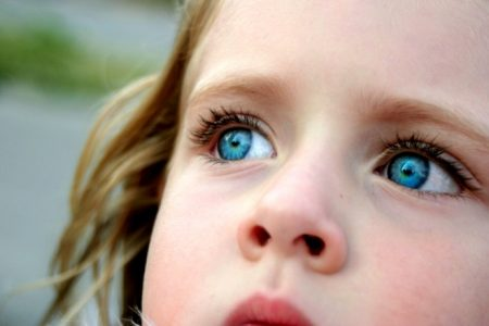 خلفيات عيون زرقاء (2)