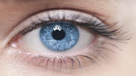 خلفيات عيون زرقاء (3)