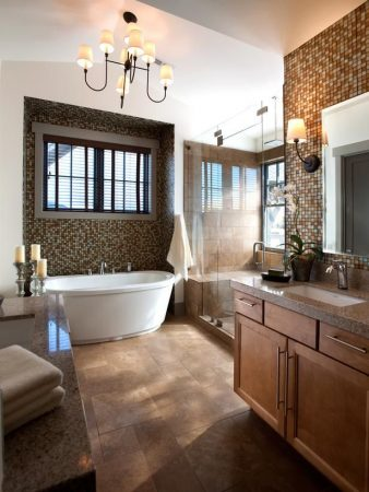 ديكورات حمامات موزاييك مودرن فخمة جدا (1)