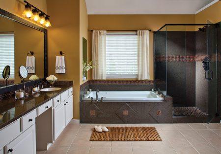 ديكورات حمامات موزاييك مودرن فخمة جدا (2)
