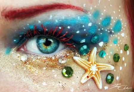 رسومات عيون خضراء (3)