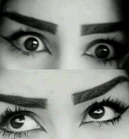 صور عيون سوداء رمزيات وخلفيات عيون سمراء (2)