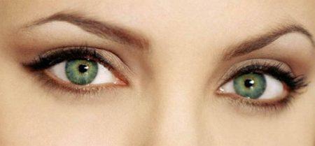 عيون اخضر جميلة (2)
