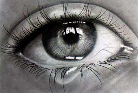 دموع حزينة بالصور (2)