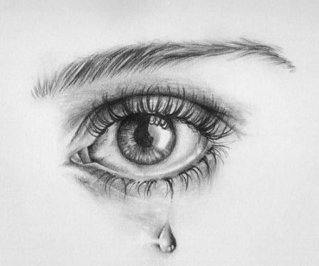 دموع حزينة بالصور (3)