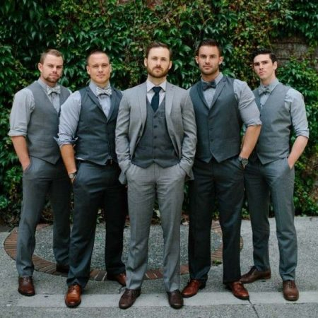 صور افكار جديدة لأصدقاء العريس في الملابس (2)