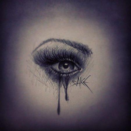صور حزينة للعيون والدموع (1)