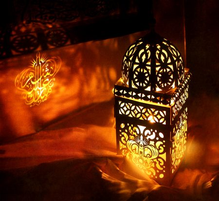 اشكال فوانيس رمضان ملونة 1